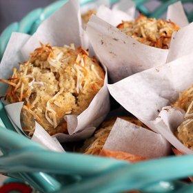 Banánovo-kokosové muffiny