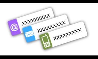 Kontaktní štítky - popisovací