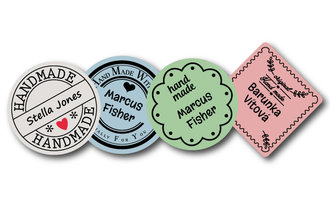 Product badges - iron on labels