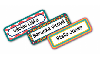 Neutral design labels