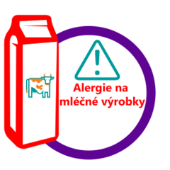 Milk allergy