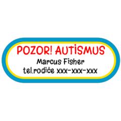 Autismus - zdravotní štítky