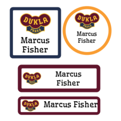 Dukla Prague labels