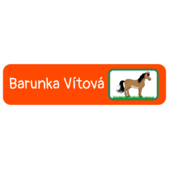 Horse - mini rectangle labels