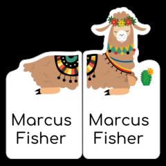 Lama - pravá a levá bota