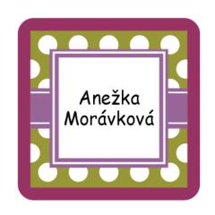 Mini square labels