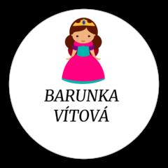 Princezna - nažehlovací štítky