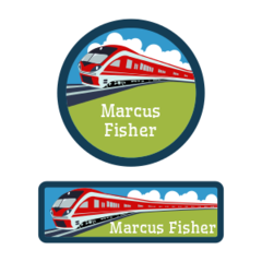 High Speed Train labels