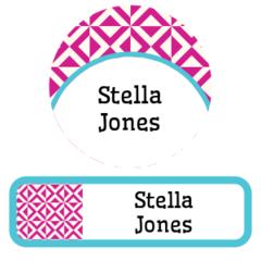 Pattern labels - value pack