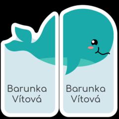 Velryba - pravá a levá bota