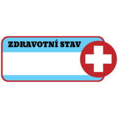 Zdravotní štítek - popisovatelný
